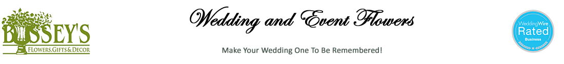 Bussey's Wedding Flowers Logo